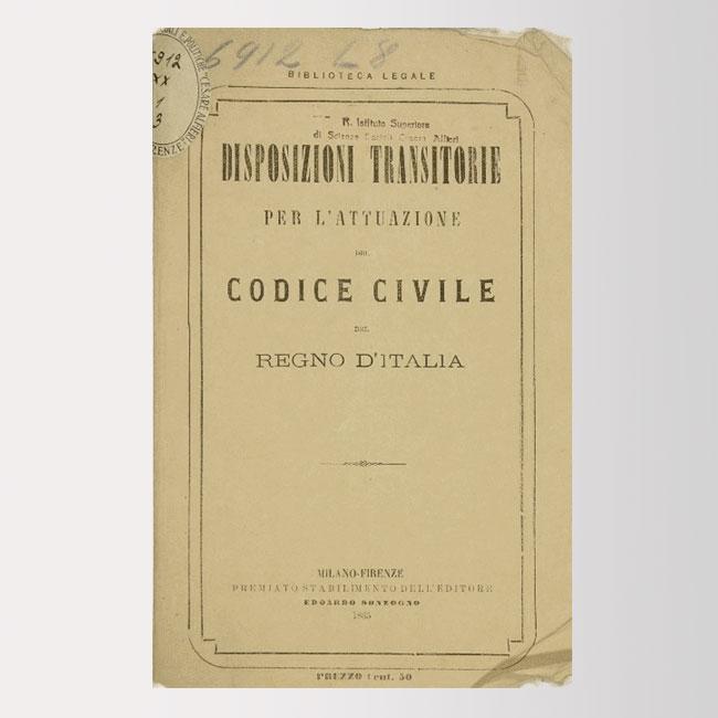 disposizioni attuzione Codice Civile