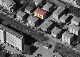 "vista aerea del condominio ""Campi 258"""