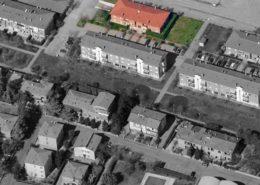 "vista aerea del condominio ""Gardenia"""