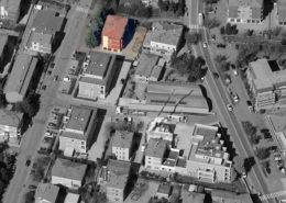 """vista aerea del condominio """"Leopardi 122"""""""