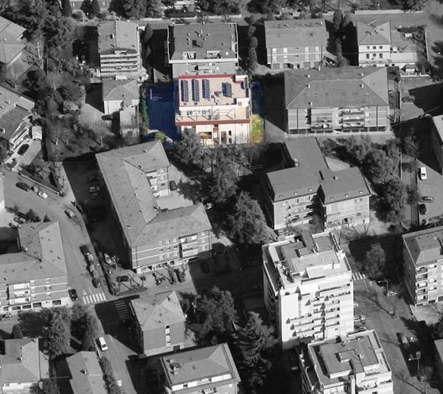 """vista aerea del Condominio """"Zoagli 28"""""""
