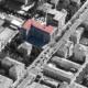 """Vista aerea del condominio """"Cristallo"""""""