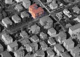 """Vista aerea del condominio """"San Marco II°"""""""