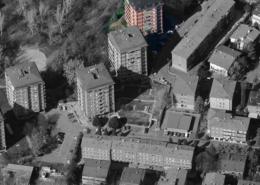 """vista aerea del condominio """"Torre 1"""""""