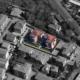 "vista aerea del condominio ""Le Palme"""