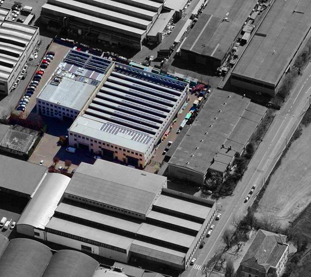 """Vista aerea del condominio """"S. Anna 88"""""""