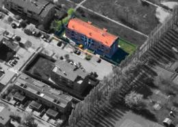 """Vista aerea del condominio """"Primavera"""""""