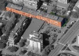 """Vista aerea del condominio """"Giardino 2"""""""